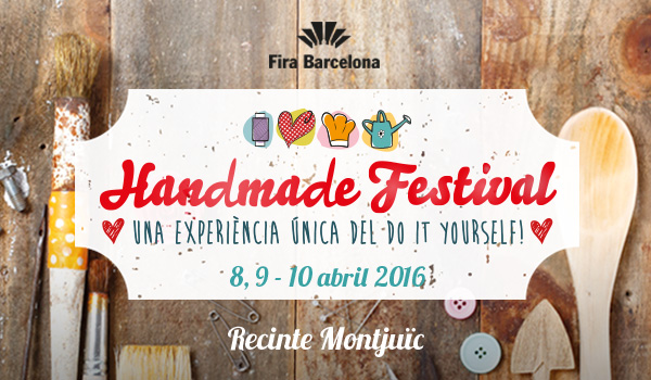 3mb materia en el Handmade Festival 2016