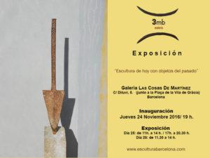 Expo Las Cosas de Martínez Castellano